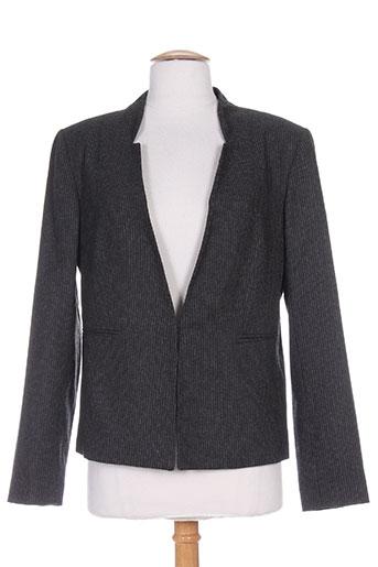phildar vestes femme de couleur gris