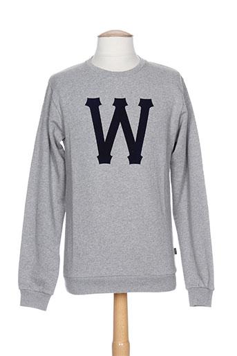 wesc sweats homme de couleur gris
