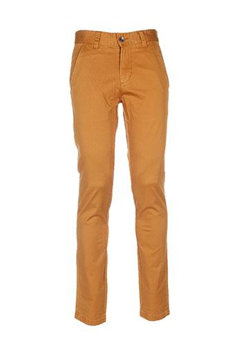 wesc pantalons homme de couleur marron