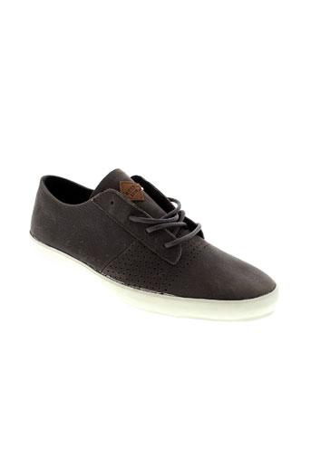 reef chaussures homme de couleur vert