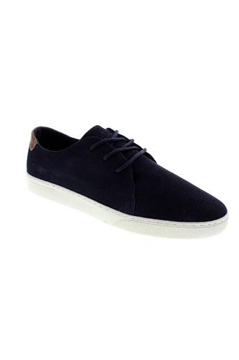 wesc chaussures homme de couleur bleu