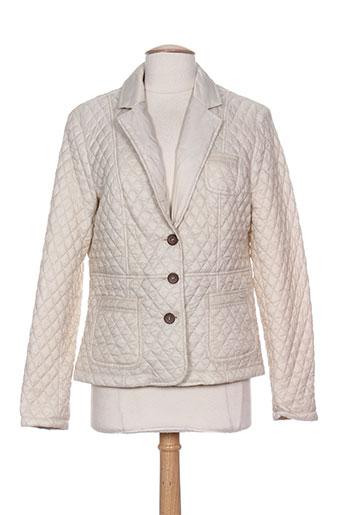 white label vestes femme de couleur beige