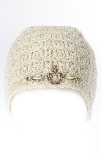 daniela et dallavalle chapeaux et bonnets femme de couleur beige
