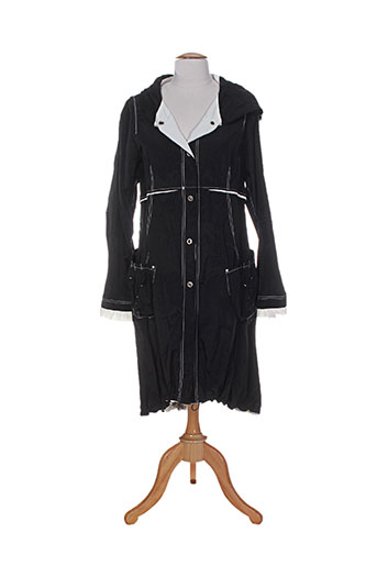motys collection manteaux femme de couleur noir