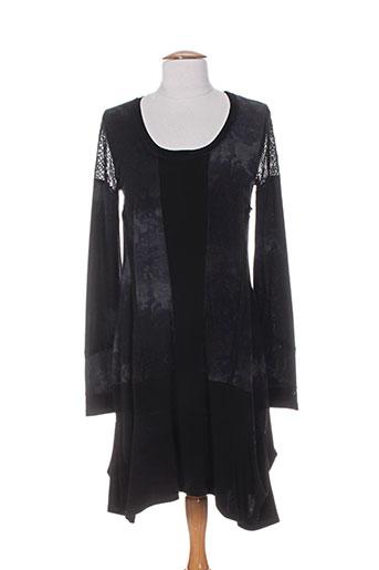 deca robes femme de couleur noir