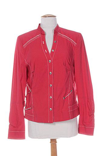 femmes je vous aime vestes femme de couleur rouge