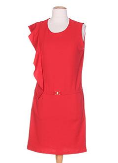 Robe rouge dentelle rinascimento