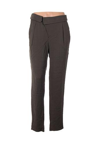set pantalons femme de couleur vert