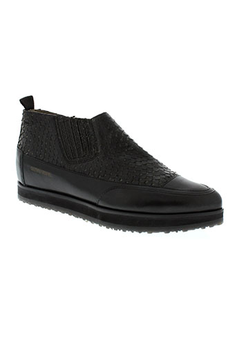 candice et cooper boots femme de couleur noir
