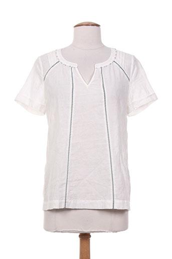 sandwich chemises femme de couleur blanc