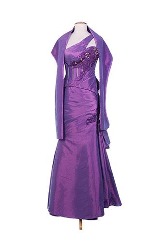 Top/jupe violet CREATIF PARIS pour femme