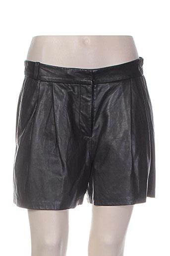 paul smith shorts / bermudas femme de couleur noir