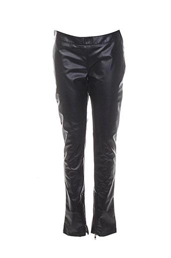 galliano pantalons homme de couleur noir