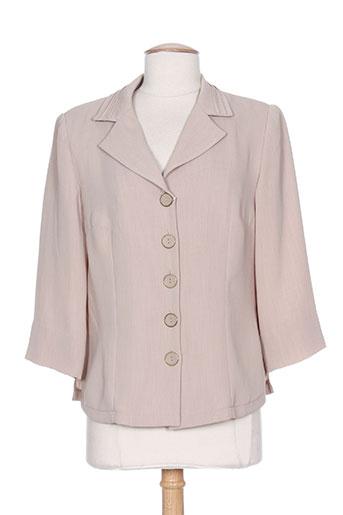 costura 40 vestes femme de couleur beige