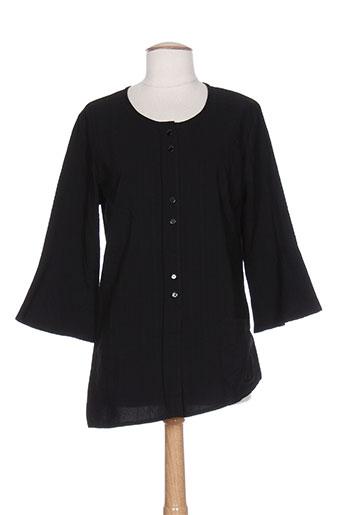 chrismas's chemises femme de couleur noir