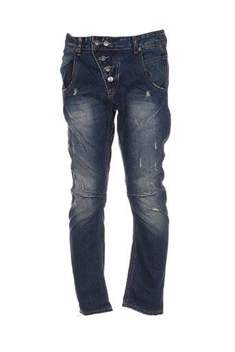 invictus jeans homme de couleur bleu