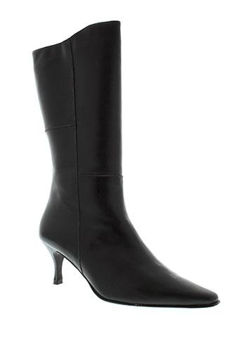 faustine bottines femme de couleur noir