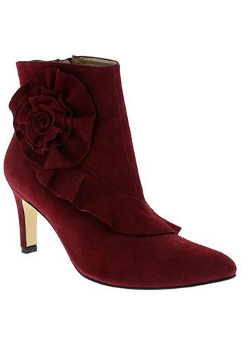 azuree boots femme de couleur rouge