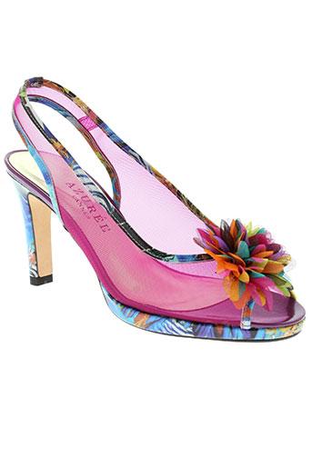 azuree chaussures femme de couleur violet