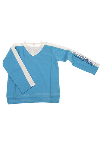 T-shirt manches longues bleu LA TRIBBU pour garçon