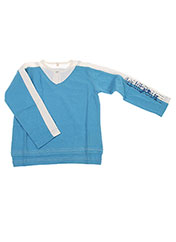 T-shirt manches longues bleu LA TRIBBU pour garçon seconde vue