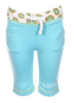 Pantalon casual bleu LA TRIBBU pour fille