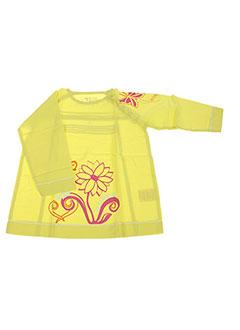T-shirt manches longues vert LA TRIBBU pour fille