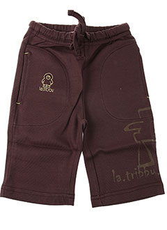 Pantalon casual marron LA TRIBBU pour garçon