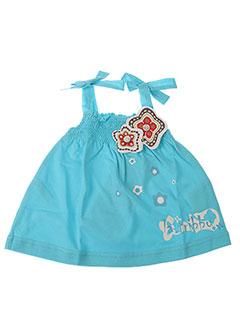 Robe mi-longue bleu LA TRIBBU pour fille
