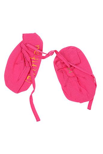 la tribbu chaussures fille de couleur rose