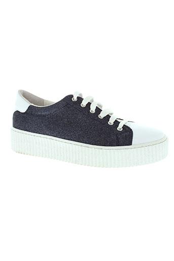 avanakan chaussures femme de couleur bleu