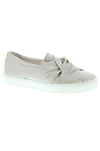 avanakan chaussures femme de couleur gris