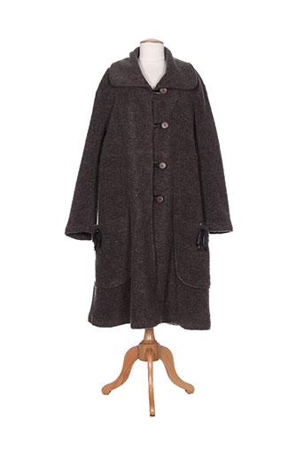 g!oze manteaux femme de couleur marron