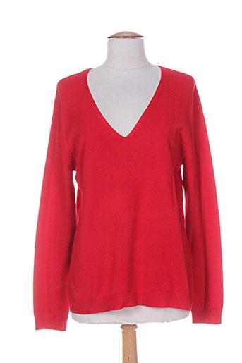 felino pulls femme de couleur rouge