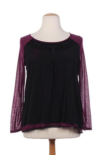 mellem chemises femme de couleur violet