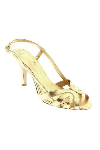 pastelle chaussures femme de couleur jaune