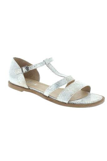 one et step sandales et nu et pieds femme de couleur blanc