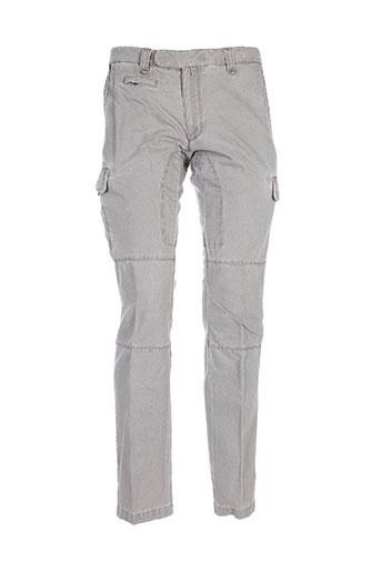 messagerie pantalons homme de couleur gris