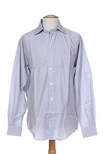 breuer chemises homme de couleur gris