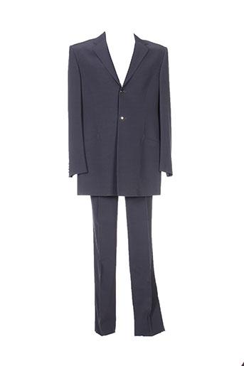 Costume de ville gris CARLO PIGNATELLI pour homme