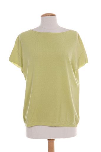 giulia pulls femme de couleur vert