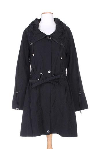 Buretti Manteaux Couleur Femme Noir De rxqrO81w6