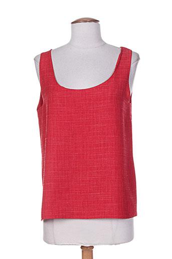 charles lorens chemises femme de couleur rouge