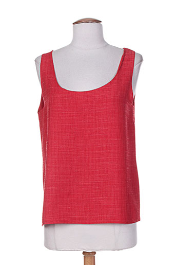 Top rouge CHARLES LORENS pour femme