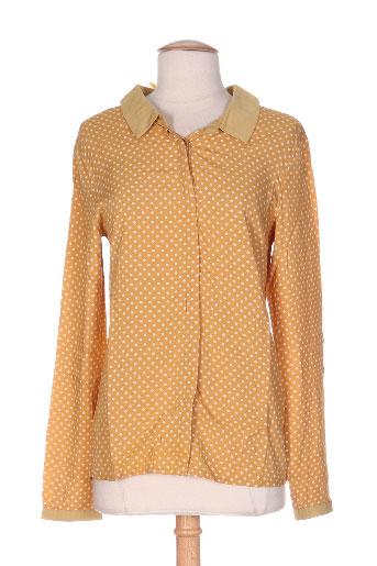 la p'tite etoile chemises femme de couleur jaune