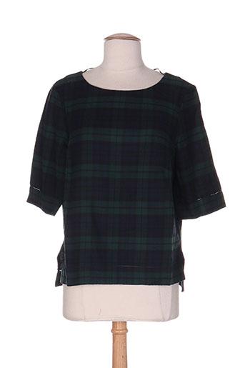 esprit chemises femme de couleur vert