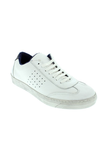 patrick chaussures homme de couleur blanc
