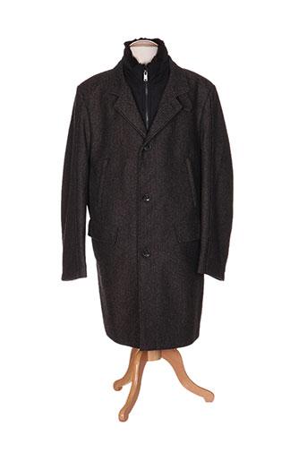 jupiter manteaux homme de couleur marron