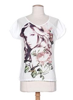 Produit-T-shirts / Tops-Femme-KAPORAL