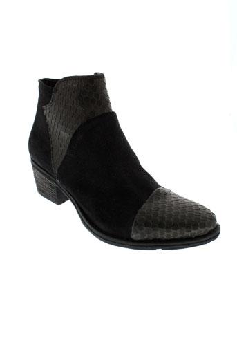 khrio boots femme de couleur noir